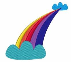 Rainbow Sky embroidery design