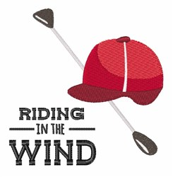Riding Wind embroidery design