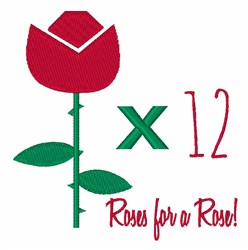 Roses for Rose embroidery design