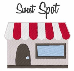 Sweet Spot embroidery design