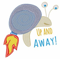 Up and Away embroidery design