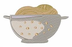 Spaghetti Colander embroidery design