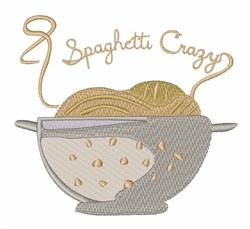 Spaghetti Crazy embroidery design