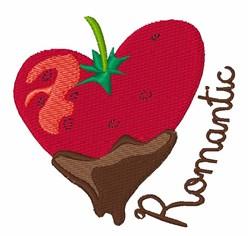Romantic Strawberry embroidery design