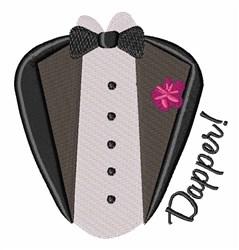 Dapper Tux embroidery design