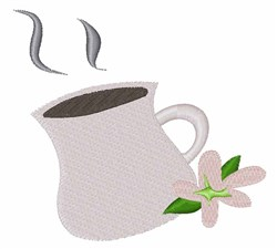 Hot Drink embroidery design