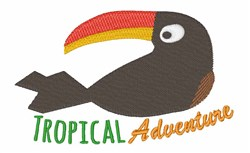 Tropical Adventure embroidery design