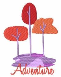 Adventure Trees embroidery design