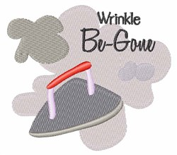 Wrinkle Be-Gone embroidery design