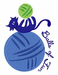 Ball Of Fun embroidery design