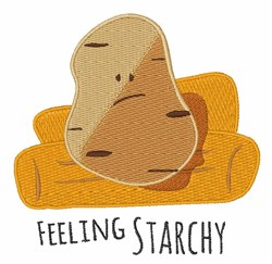Feeling Starchy embroidery design