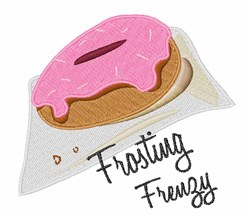 Frosting Frenzy embroidery design