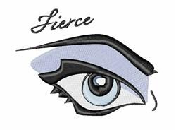 Fierce embroidery design