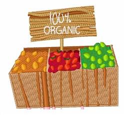 100% Organic embroidery design