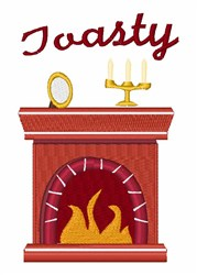 Toasty embroidery design