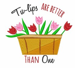 Tu-lips Are Better embroidery design