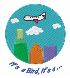 Its A Bird embroidery design