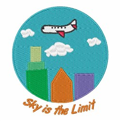 Sky Is The Limit embroidery design