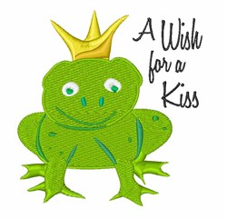 Wish For Kiss embroidery design