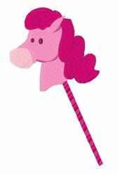 Stick Pony embroidery design