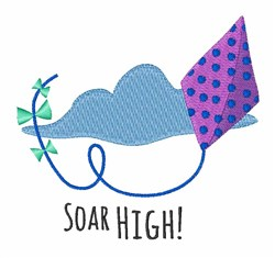 Soar High embroidery design