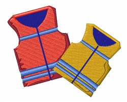 Life Jackets embroidery design