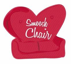 Smooch Chair embroidery design