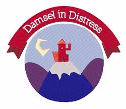 Damsel In Distress embroidery design