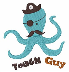 Tough Guy embroidery design