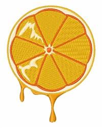 Orange Slice embroidery design