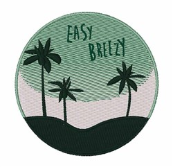 Easy Breezy embroidery design