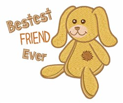 Best Friend embroidery design