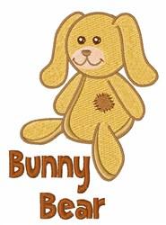 Bunny Bear embroidery design