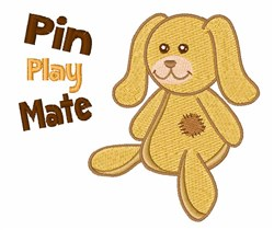 Pin Play Mate embroidery design