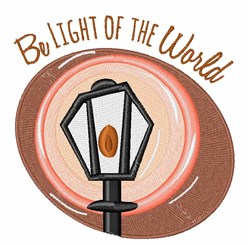 Light Of World embroidery design