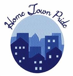 Home Town Pride embroidery design