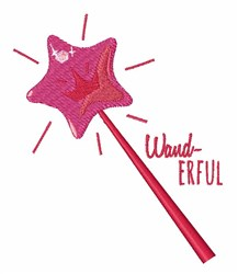 Wand-erful embroidery design
