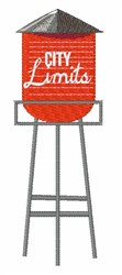 City Limits embroidery design