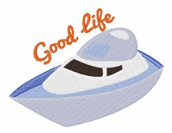 Good Life embroidery design