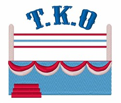 T K O embroidery design