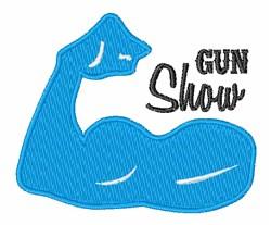 Gun Show embroidery design