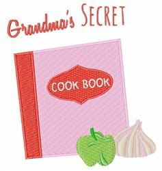 Grandmas Secret embroidery design