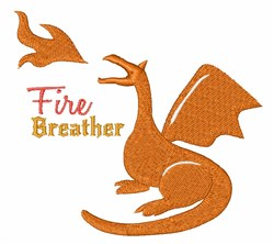 Fire Breather embroidery design