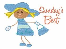 Sundays Best embroidery design