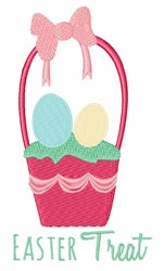 Easter Treat embroidery design