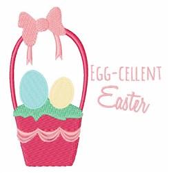 Egg-cellent Easter embroidery design