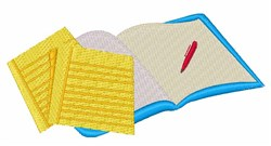 Homework embroidery design