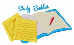 Study Buddies embroidery design