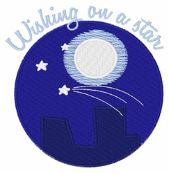 Wishing On A Star embroidery design