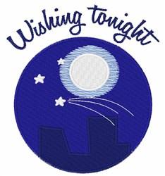 Wishing Tonight embroidery design